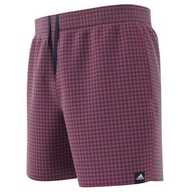 adidas Check CLX Short Length Shorts Men, wild pink/crew navy